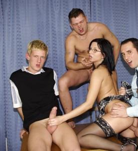 Sex Im Swinger Club